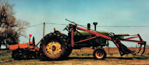 In 1989 I sat in the planter's seat behind this tractor and planted trees!